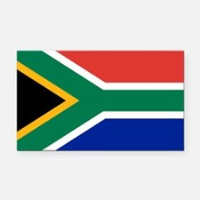South Africa Flag Rectangle Car Magnet