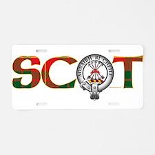 Cameron Clan Aluminum License Plate