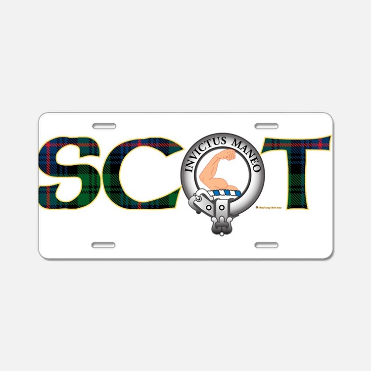 Armstrong Clan Aluminum License Plate