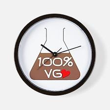 I love 100% VG e-juice Wall Clock