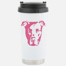Unique American pit bull terrier Travel Mug