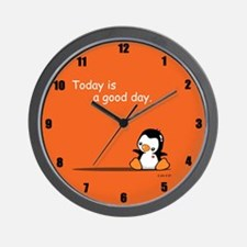 Cute Penguin Wall Clock