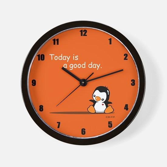 Cute Penguin Wall Clock