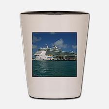 Port of Miami Shot Glass