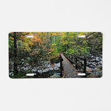 Autumn at Greenbrier Cove Aluminum License Plate