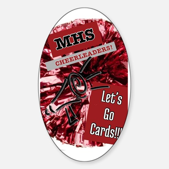 Any high school that starts with a  Sticker (Oval)