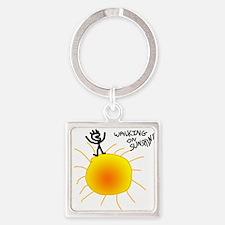 Walking on Sunshine Keychains