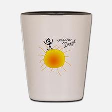 Walking on Sunshine Shot Glass