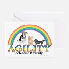 Celebrate Diversity(dogs) Greeting Cards (6)