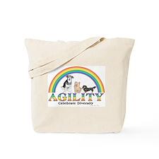 Celebrate Diversity(dogs) Tote Bag