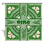 Symbols Of Ireland Shower Curtain