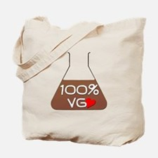 I love 100% VG Juice Tote Bag