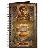 Steampunk Journals & Spiral Notebooks