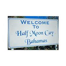 Half Moon Cay Bahamas Rectangle Magnet