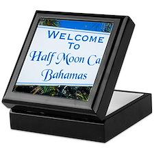 Half Moon Cay Bahamas Keepsake Box