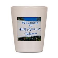 Half Moon Cay Bahamas Shot Glass