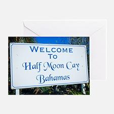 Half Moon Cay Bahamas Greeting Card