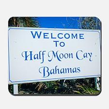 Half Moon Cay Bahamas Mousepad
