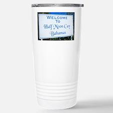 Half Moon Cay Bahamas Travel Mug