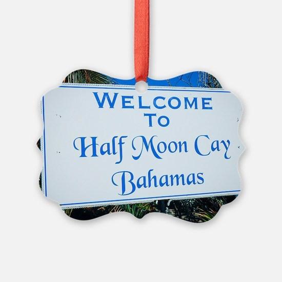 Half Moon Cay Bahamas Ornament