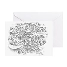 Aztec Calendar Greeting Cards (Pk of 10)