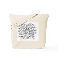 Aztec Calendar Tote Bag