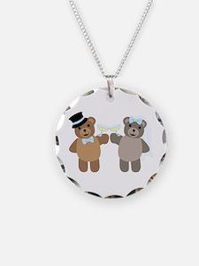 Wedding Bears Necklace