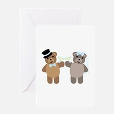 Wedding Bears Greeting Cards