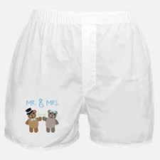 Mr. And Mrs. Boxer Shorts
