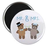 Bride groom Magnets