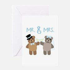 Mr. And Mrs. Greeting Cards
