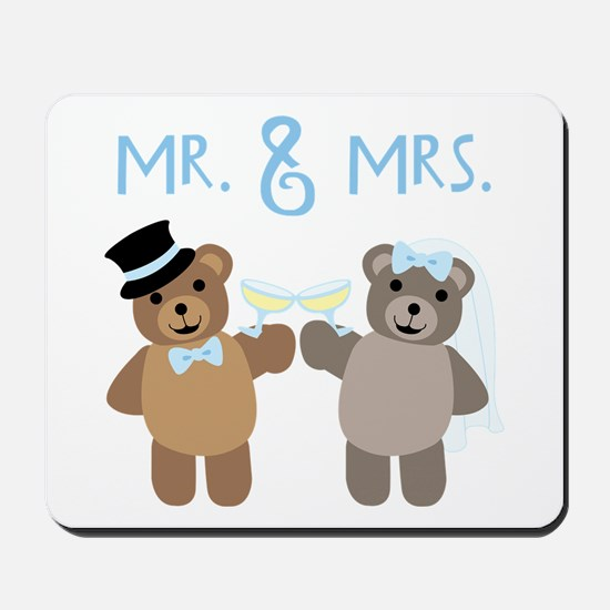 Mr. And Mrs. Mousepad