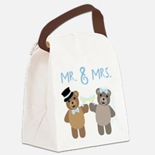 Mr. And Mrs. Canvas Lunch Bag