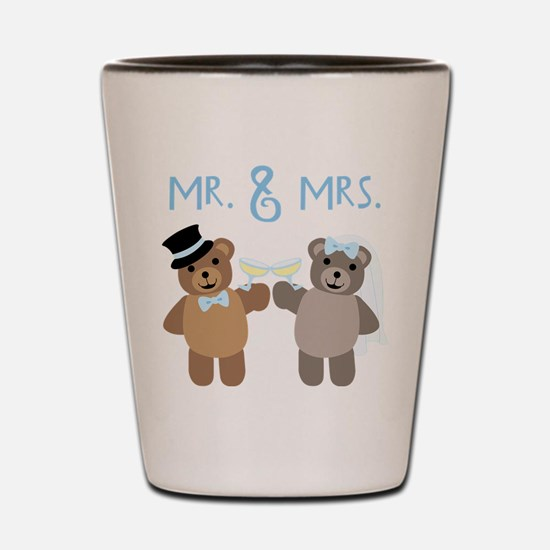 Mr. And Mrs. Shot Glass