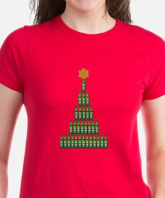 Beer Christmas Tree T-Shirt
