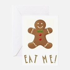 EAT ME! Greeting Card
