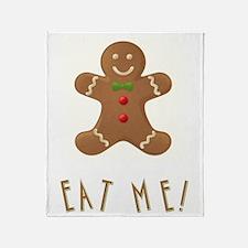 EAT ME! Throw Blanket