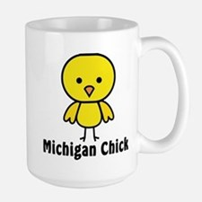 Michigan Chick Mugs