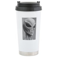 Alien Grey 11 Travel Mug