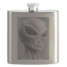 Alien Grey 11 Flask