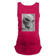 Alien Grey 11 Maternity Tank Top