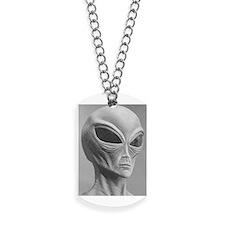 Alien Grey 11 Dog Tags