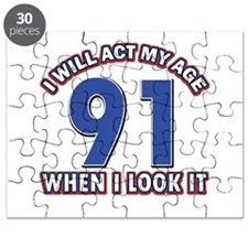 Act 91 years old Puzzle