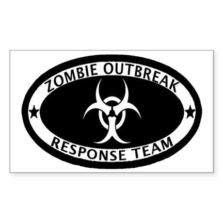 Zombie Outbreak Response Team Decal by GrumpyDude