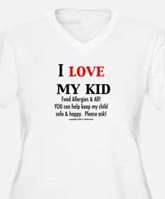 Funny Food allergy awareness T-Shirt