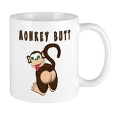 Monkey Butt New Begining Mugs