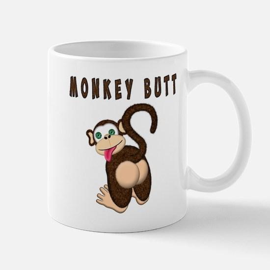 Monkey Butt New Begining Mugs