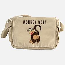 Monkey Butt New Begining Messenger Bag