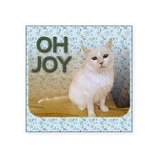 "December Square Sticker 3"" x 3"""