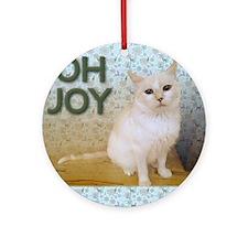 December Round Ornament